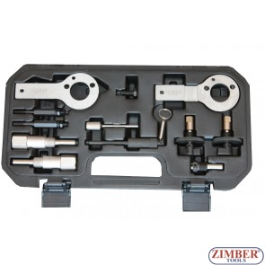К-т за зацепване на  двигатели Fiat,Alfa Romeo, Lancia, Opel, Suzuki, Saab 1.3, 1.9. 2.4 D, DT, CDTI, ZR-36ETTS85 - ZIMBER-PROFESSIONAL