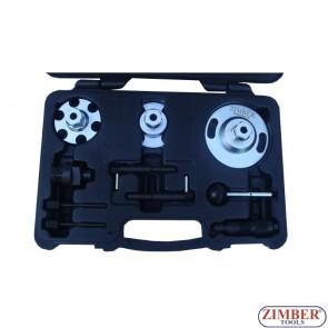 К-т за зацепване на двигатели VOLKSWAGEN, AUDI - 2.7 TDI PD V6,3.0 TDI V6, 4.0 TDI V8 - ZR-36ETTS64 - ZIMBER-PROFESSIONAL