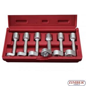 Ключове за инжекторни тръби к-т 6 бр - ZR-36OERWS  - ZIMBER-PROFESSIONAL