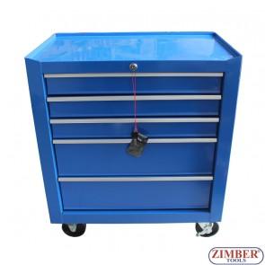 Инструментална количка (шкаф) 5 отделения, - SH-5