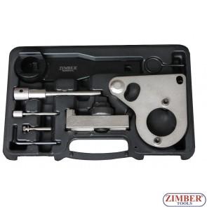 Комплект за зацепване на дизелов двигател верижно задвижване на Renault, Nissan, Vauxhall/Opel Diesel 2.0, 2.3 dCi, CDTi-M9R/M9T - ZR-36ETTS157 - ZIMBER PROFESSIONAL