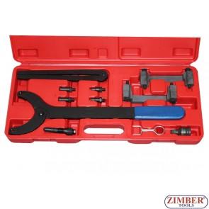 Под наем - Комплект за зацепване на двигатели VAG Audi,VW - A4,A6,A8 3.2L,QUATTRO 2.4 - TFSI V6 - ZT-04A2126 - SMANN TOOLS.
