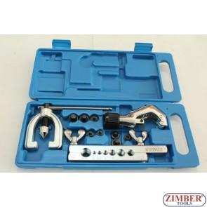 Конусна дъска за ремонт на спирачни тръбички (с тръборез)  ZR-22FTSD04 - ZIMBER PROFESSIONAL