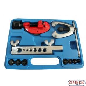 Конусна дъска за ремонт на спирачни тръбички (с тръборез) ZR-22FTSD07 - ZIMBER PROFESSIONAL