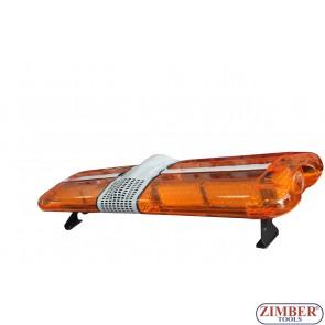 Сигнална лампа LED , Лайтбар - 24V - 127-38-25см