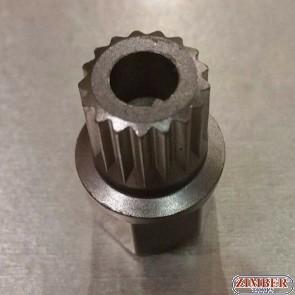 Ключ за секретни болтове на BMW / MINI  36 / 19 шлицове - ZIMBER-PROFESSIONAL