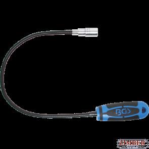 Гъвкав магнит с LED осветление - 600 mm- 1.5 kg (3187) - BGS-PROFESSIONAL
