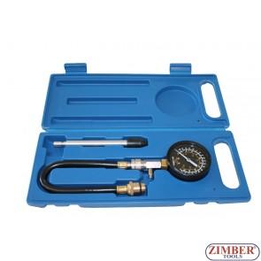 Компресомер за измерване на компресия за бензинови двигатели -  ZT-04101 - SMANN.