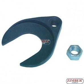 Накрайник за обратен чук за вадене карета на полуоски -ZR-36PICVJ - ZIMBER-PROFESSIONAL