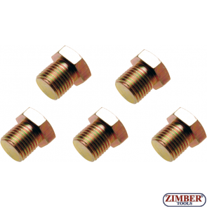 Пробки за картер M15x 1.5 mm 5 бр.  (126-SM15) - BGS-PROFESSIONAL
