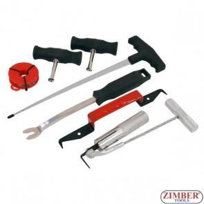 К-т инструменти за сваляне на автостъкла, 3552 - NEILSEN