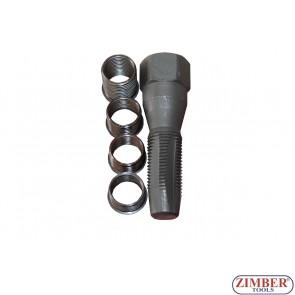 Метчик за възстановяване на резби на свещи 14мм, ZR-36RKSP14 - ZIMBER PROFESSIONAL