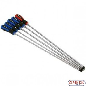 Комплект дълги отвертки, XXL 450 mmL-5-бр -4033- NEILSEN-TOOLS.