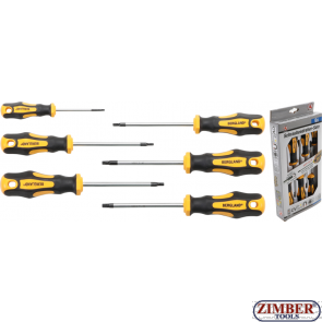 Отвертки комплект T-Star T10 - T30,  6 части (35826) - BGS technic