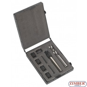 К-т инструменти за почистване на точкова заварка, ZT-08А01745 - SMANN-PROFESSIONAL
