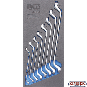 Комплект ключове лули от 6x7 до - 20x22 mm -8 бр,  (4084) - BGS technic