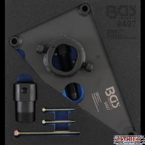 Инструмент за демонтаж на зъбно колело на горивна помпа високо налягане за HYUNDAI и KIA дизелови двиг. с верига (9497) - BGS PROFESSIONAL