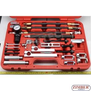 Универсален к-т за монтаж и демонтаж на пружини и клапани- ZT-04А2291 - SMANN TOOLS