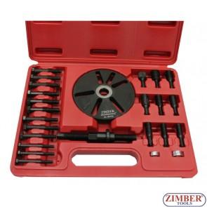Универсален к-т за демонтиране на ремъчни шайби, ZR-36BPI - ZIMBER-PROFESSIONAL