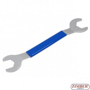 Ключ за шайба вентилаторна Двустранна - BMW, FORD, OPEL VAUXHALL ( 32mm & 36mm ) - ZIMBER - PROFESSIONAL