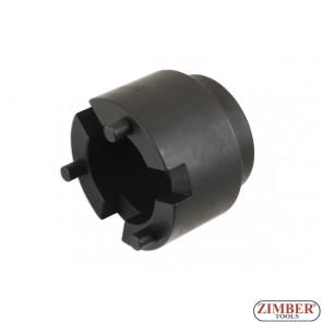 Вложка за монтаж демонтаж на фиксиращата втулка на задната главина Toyota Land Cruiser- ZR-36RHS - ZIMBER-TOOLS