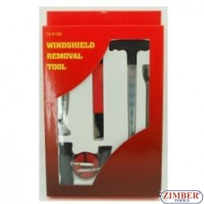 К-т  Инструменти  за сваляне на автостъкла, ZR-36WRK01 - ZIMBER-PROFESSIONAL