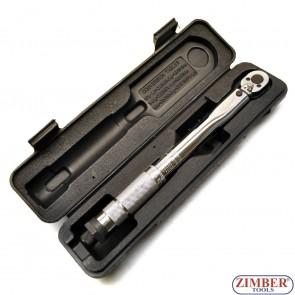 """Динамометричен ключ 1/4"""", 5~25Nm /4 18 Ft./lbs (ZR-17TW1403) - ZIMBER-TOOLS."""