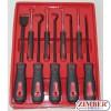 Куки к-т + стъргалка 9 части (ZT-04122) - SMANN PROFESSIONAL