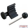 Инструменти за зацепване на колянов вал и ГНП - 1.9TDI/SD, VW/Audi/Seat/Skoda - ZIMBER TOOLS