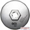 Ключ за маслен филтър Ø 74 mm x 14 за Audi, BMW, Mercedes-Benz, Opel, VW (1041) - BGS technic