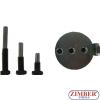 Инструмент за монтаж и демонтаж на еластични канални ремъци Audi / Seat / Skoda / Volkswagen, 4-бр- ZR-36MTSFMRB02 - ZIMBER TOOLS.