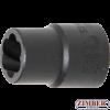 "Вложка екстрактор за отвиване на повредени болтове и гайки 1/2"" - 13 mm (5266-13) - BGS-PROFESSIONAL"
