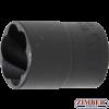 "Вложка екстрактор за отвиване на повредени болтове и гайки 1/2"" - 19 mm (5266-19) - BGS-PROFESSIONAL"