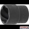 Вложка екстрактор за отвиване на повредени болтове и гайки 21 mm. 1/2 (5269-21) - BGS - PROFESSIONAL