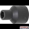 "Вложка екстрактор за отвиване на повредени болтове и гайки 8-mm. 1/2"" (5268-9) - BGS-PROFESSIONAL"