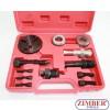К-т инструменти за съединители на компресори за автоклиматици (ZT-04040) - SMANN TOOLS.