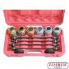 Универсален комплект за монтаж и демонтаж на селенови втулки, тампони, лагери, семеринги и др. 26 части (ZT-04803) - SMANN -PROFESSIONAL