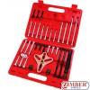 Универсален к-т за демонтаж на ангренажни колела, ремъчни шайби, зъбни колела, волани и др. 46-бр - ZT-04008 - SMANN PROFESSIONAL